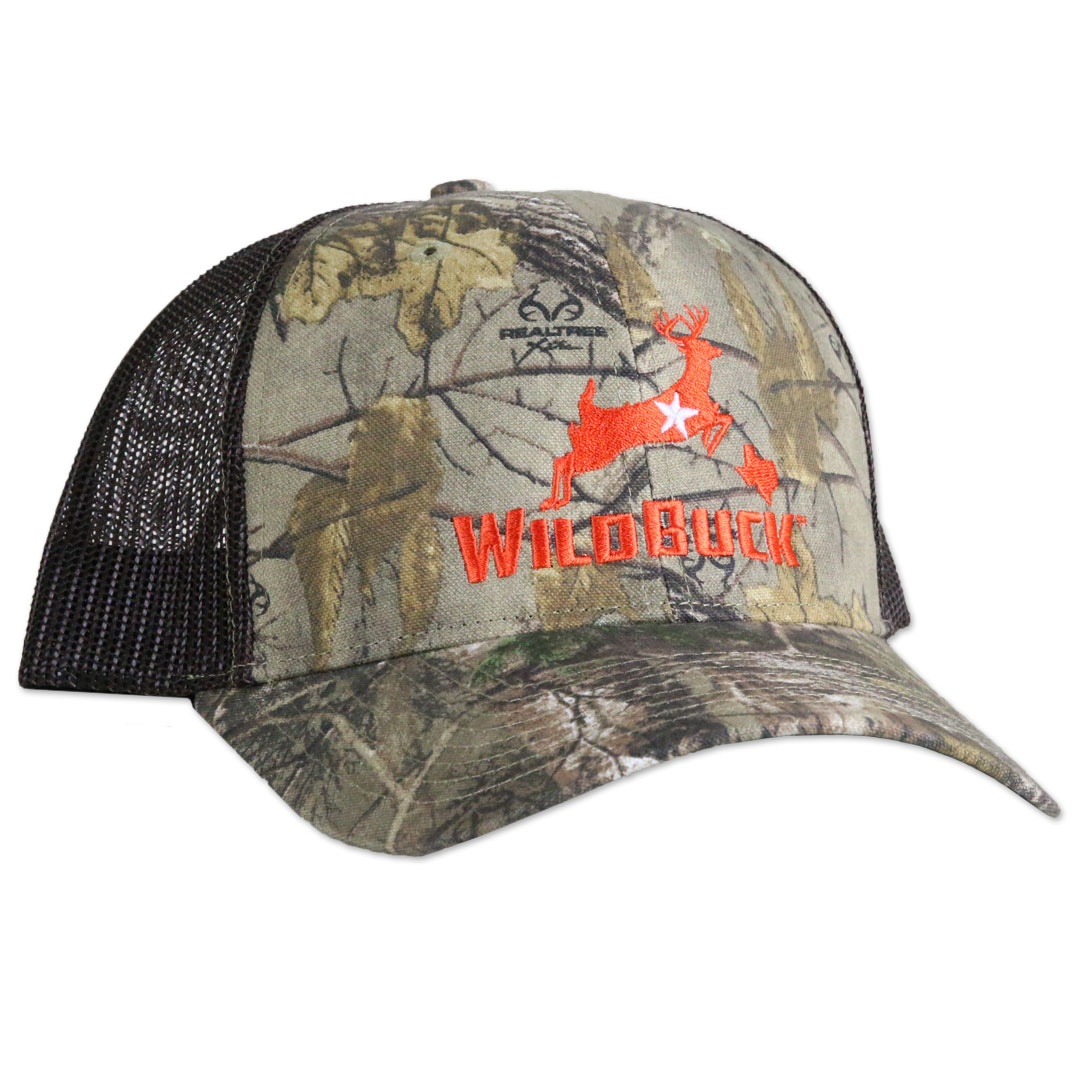 WildBuck Realtree Xtra Texas Orange Mesh Side
