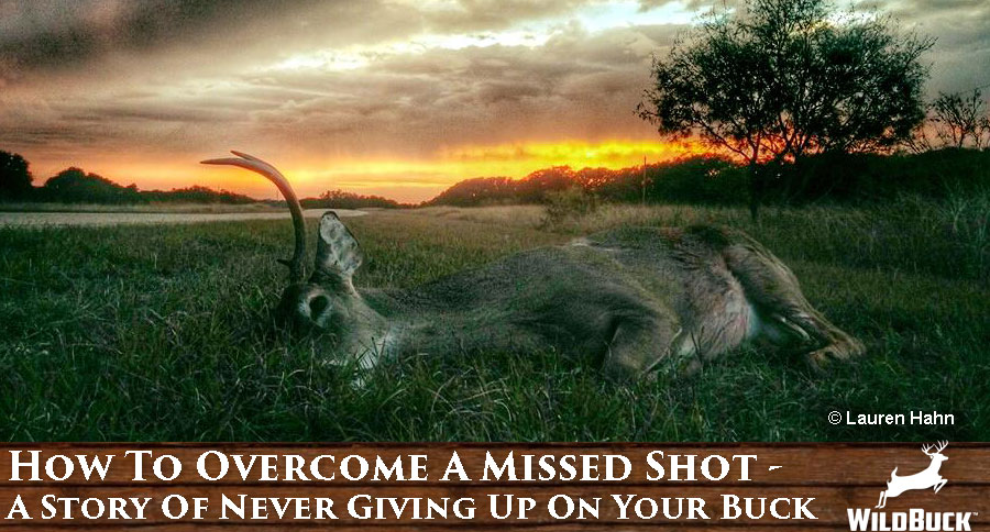 How To Overcome A Missed Shot – A Story Of Never Giving Up On Your Buck