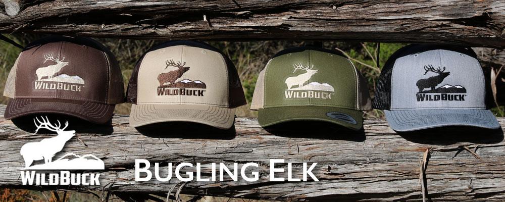 Western Wildlife Bugling Elk
