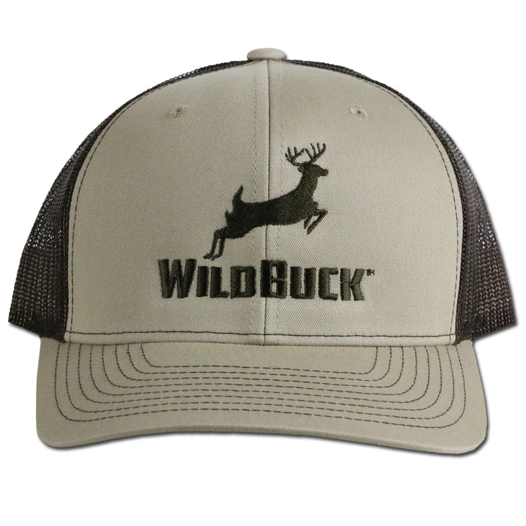 WildBuck Original Buckskin/Coffee Snapback Front