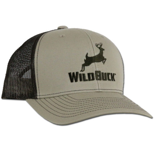 WildBuck Original Buckskin/Coffee Snapback Side