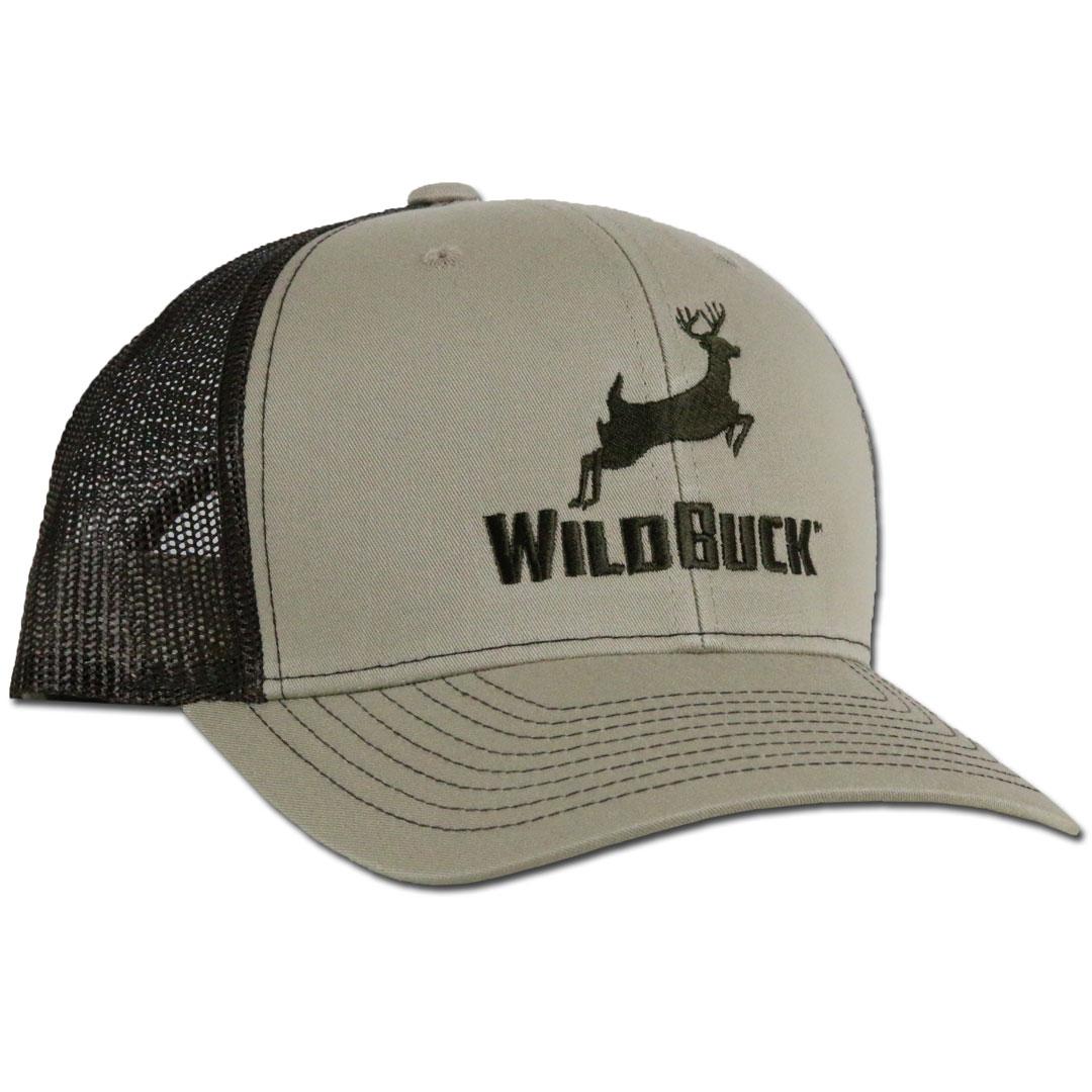 WildBuck Original Buckskin/Coffee Snapback Side