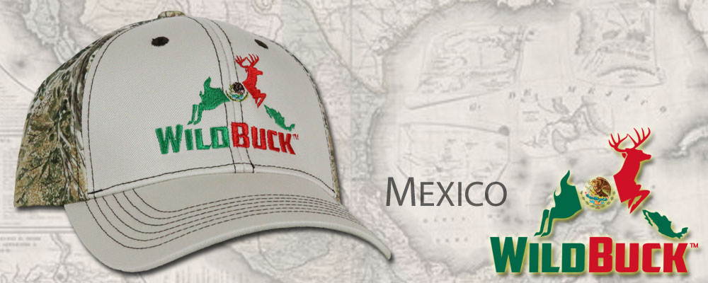 WildBuck Mexico Hats