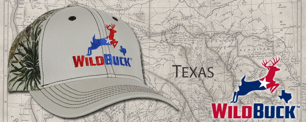 WildBuck Texas RWB Hats (Red White Blue)