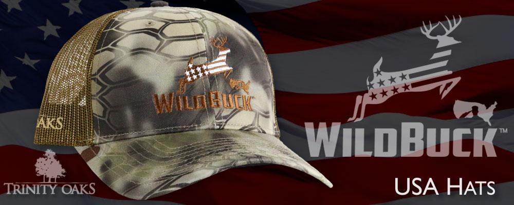 WildBuck USA Hats