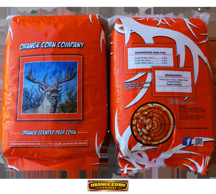 Orange Corn 50 lbs Bags