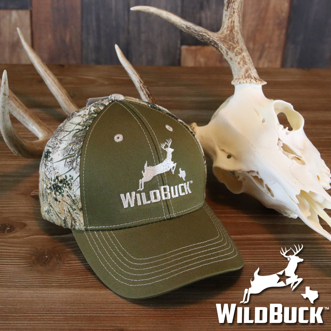 WildBuck Texas GameGuard Olive Hat