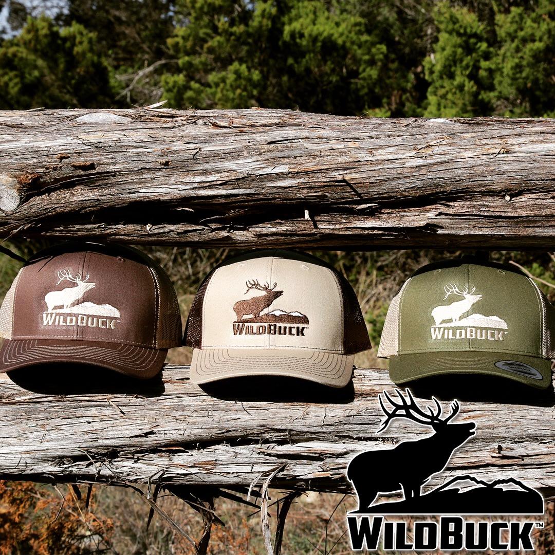 Bugling Elk Hats On Cedar
